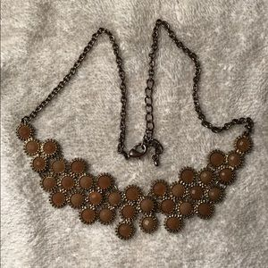 Jewelry - Nude Floral Necklace
